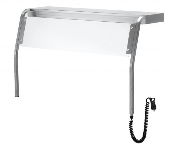 Hustenschutz mit Frontglas-Scheibe, Modell ZUBH3